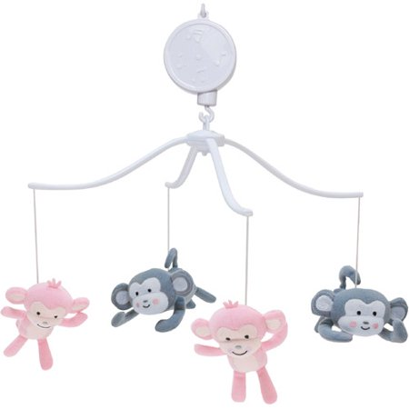 Lambs   Ivy Bedtime Originals Pinkie Musical Mobile