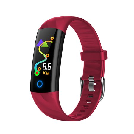 Smart Bracelet IP67 Waterproof Swim Fitness Health Monitor Heart Rate Blood Pressure Blood Oxygen Step Calorie Counter Wristband - image 4 of 7