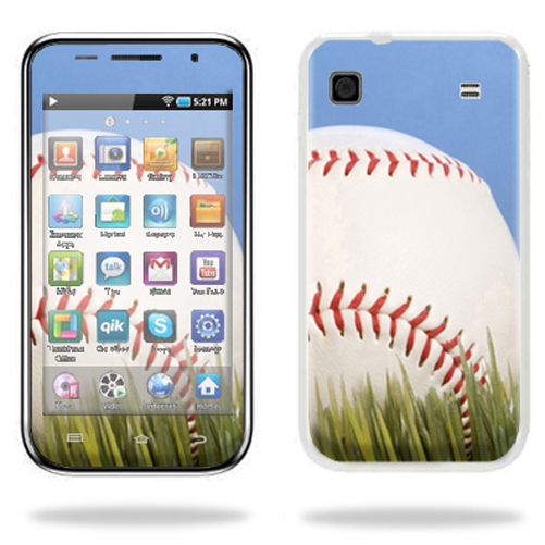 Mightyskins Protective Vinyl Skin Decal Cover for Samsung Galaxy Player 4.0 MP3 Player wrap sticker skins Baseball