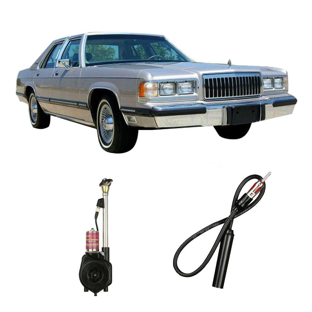 Mercury Grand Marquis 1979-1991 Factory Replacement Radio Stereo Powered Antenna