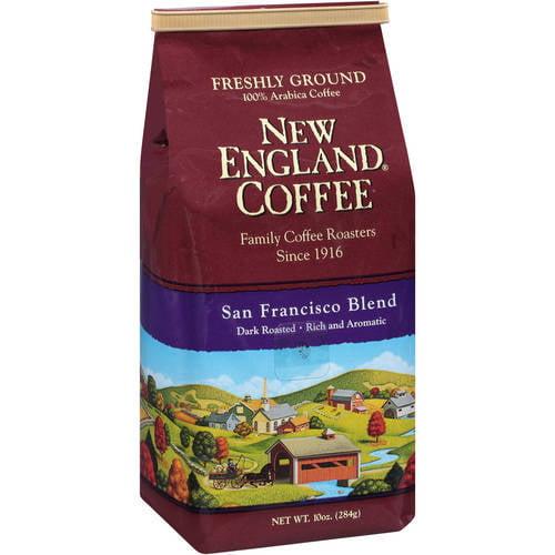 New England Coffee 100% Arabica San Francisco Blend Coffee, 10 oz