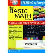Basic Math Tutor: Percents by