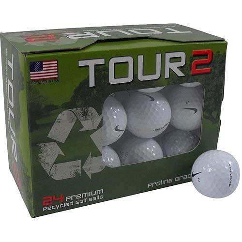 Nike One Vapor Golf Ball Mix, White, 24-Pack