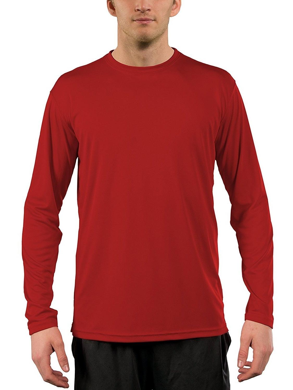 Vapor Apparel Men's UPF 50+ UV (Sun) Protection Long Sleeve Performance Shirt
