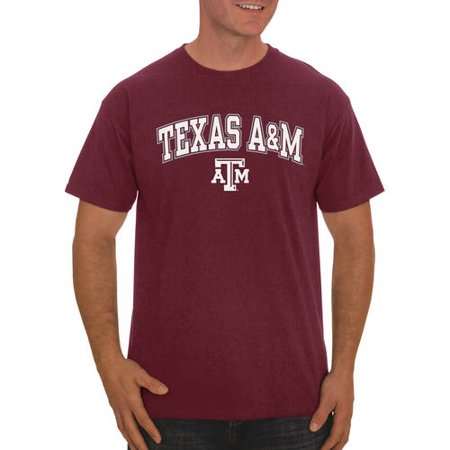 Texas A&m Three Light (Russell NCAA Texas A&M Aggies Men's Classic Cotton T-Shirt )
