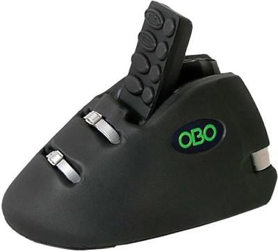 OBO ROBO HI CONTROL Field Hockey Goalie Kickers, Black, Large by