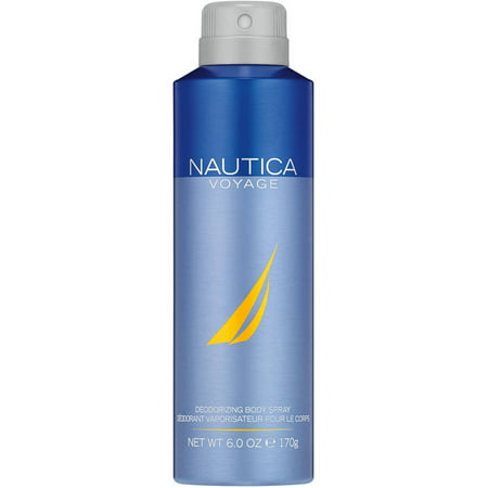 Nautica Voyage Deodorizing Body Spray, 6 oz