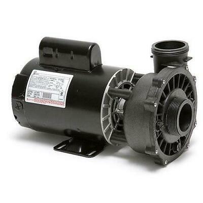 Waterway 3721221-1D Executive 56-Frame 3HP Dual-Speed Spa Pump, 2in. Intake, 2in. Discharge,
