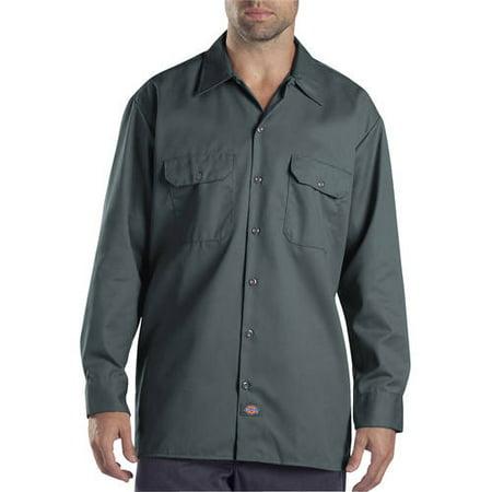 Dickies Men's Original Fit Long Sleeve Twill Work Shirt