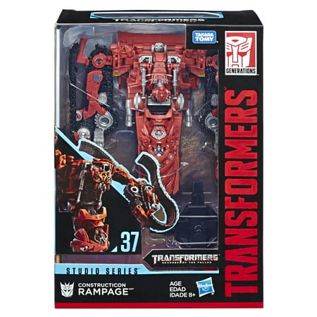 Transformers Toys Studio Series 37 Voyager Class Transformers: Revenge of the Fallen movie Constructicon Rampage Action - Studio Series Single