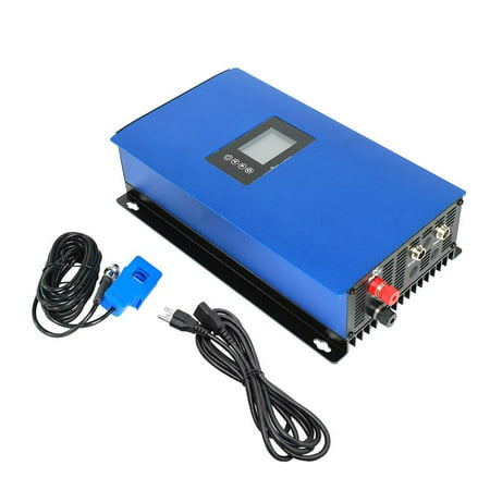 iMeshbean 1000W MPPT Solar Grid Tie Inverter Power Limiter Auto Switch PV System DC 45V to 90V to AC 110V 220V Stackable USA