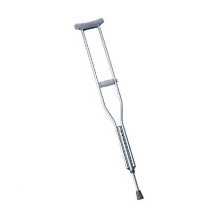 Push-Button Aluminum Crutches MDS80535HW