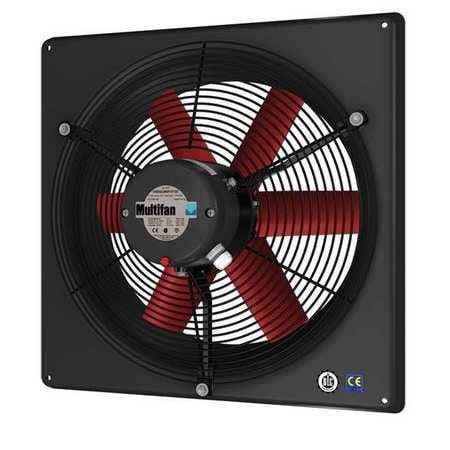 Corrosion Resistant, Medium Performance Exhaust Fan, Multifan, 4E30-K-240V