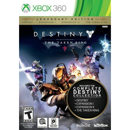 Destiny: The Taken King Legendary Edition, Activision, Xbox 360, 047875874466
