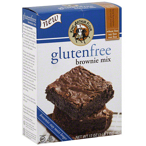 King Arthur Flour Gluten Free Brownie Mix, 17 oz (Pack of 6)