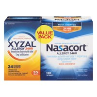 Xyzal & Nasacort Combo Pack