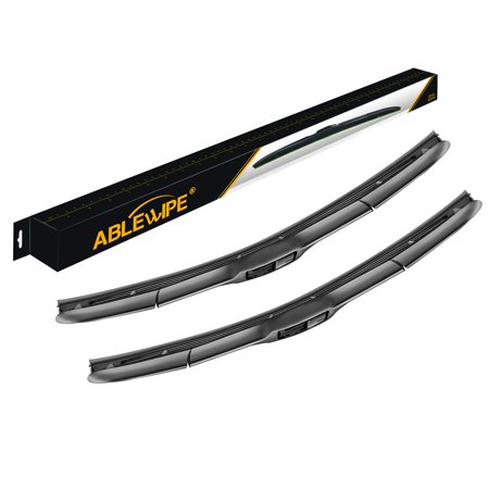 ABLEWIPE Hybrid Wiper Blades J Hook fit for CHRYSLER TOWN & COUNTRY 2011 2012 26