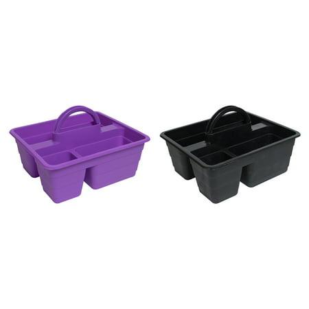 Everything Mary Craft Storage Black & Purple Caddy, 1 Each](Mary Craft)