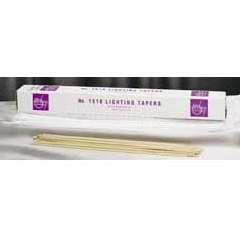 """Candle-Wax Lighting Tapers 17"""" (Pack of 100)"""