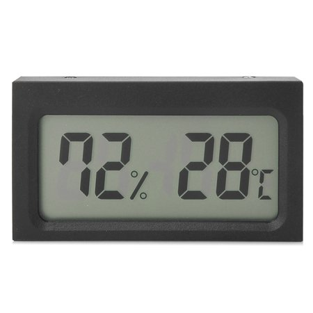 Digital LCD Indoor Thermometer Hygrometer Temperature Humidity Meter Gauge