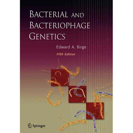 Bacterial And Bacteriophage Genetics Walmart Com border=