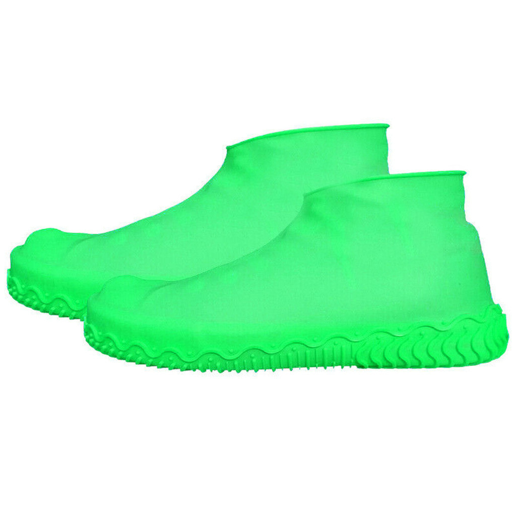 Details about  /Silicone Overshoes Rain Waterproof Shoe Covers Boot Protector Recyclable Unisex