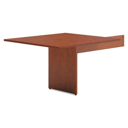 HON BL Laminate Series Rectangle Conference Table w/Slab Base,44x47.5, Medium Cherry