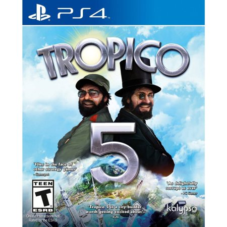 Kalypso Media Tropico 5 (PS4) - PlayStation 4 Standard Edition Up to 4 players