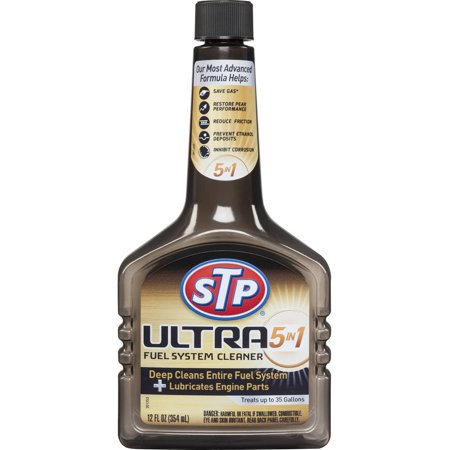 Stp Ultra 5 In 1 Fuel System Cleaner  12 Oz