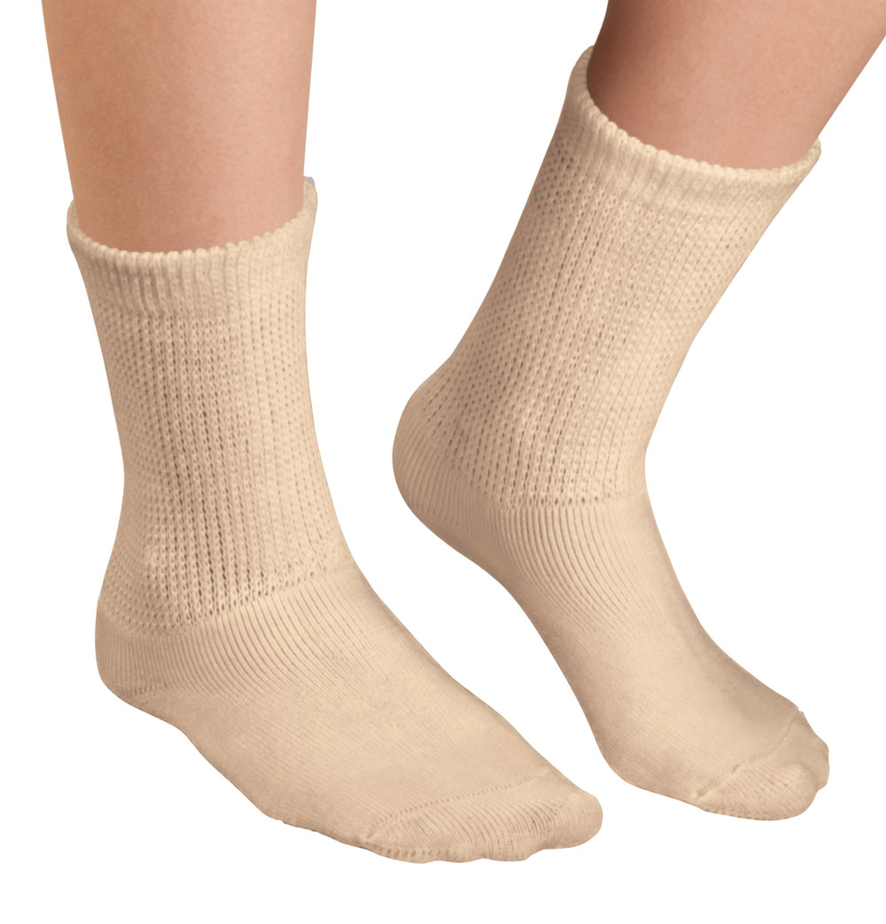 Healthy Steps 3 Pack Extra Plush Diabetic Socks