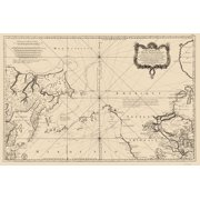World maps old world maps map north pacific ocean bellin 1766 23 x 3463 gumiabroncs Images