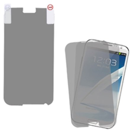 Insten Screen Protector Twin Pack for SAMSUNG: Galaxy Note II (T889/I605/N7100) - image 1 de 1