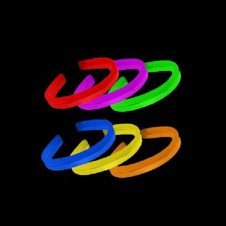 8 Twister Glow Stick Bracelets, Assorted Colors, 80 ct](Bulk Glow Bracelets)