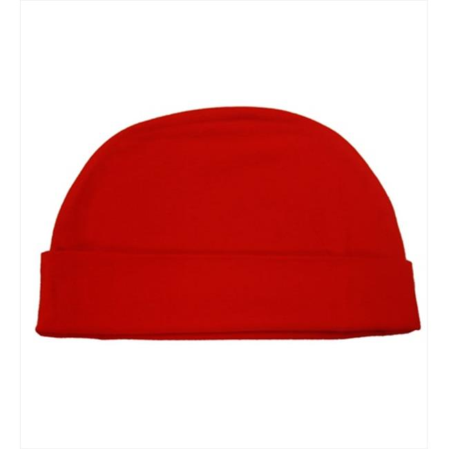 CoverYourHair 50321 Red Soft Cotton Baby Hat