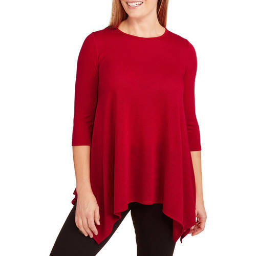 Select Clothing Always Grace Women's Sharkbite Hacci Sweater