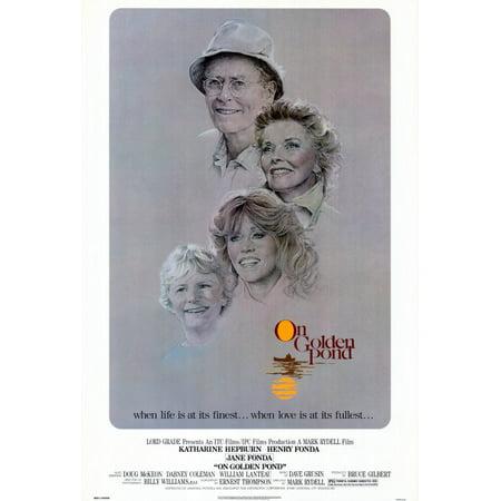 On Golden Pond (1981) 27x40 Movie Poster