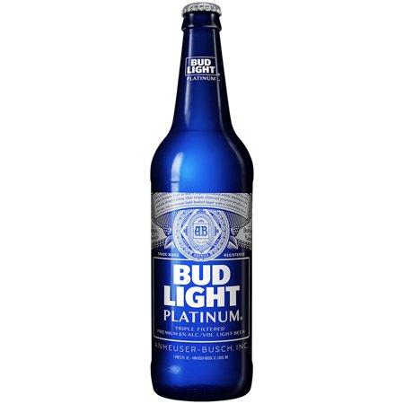 Bud Light Platinum Beer 22 Fl Oz Bottle