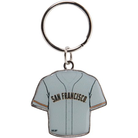 San Francisco Giants Reversible Home/Away Jersey Keychain - No Size San Francisco Giants Keychain