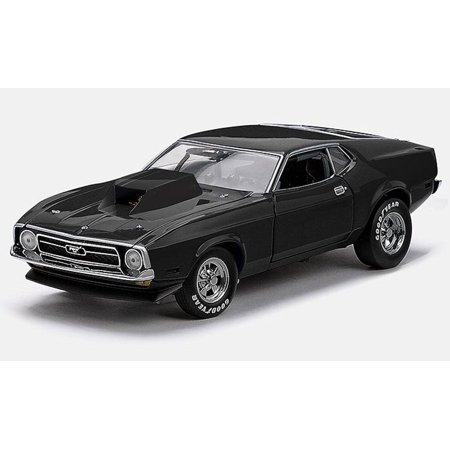 1971 Ford Mustang Pro Stock Drag Car, Black - Sun Star 3618 - 1/18 Scale  Diecast Model Toy Car