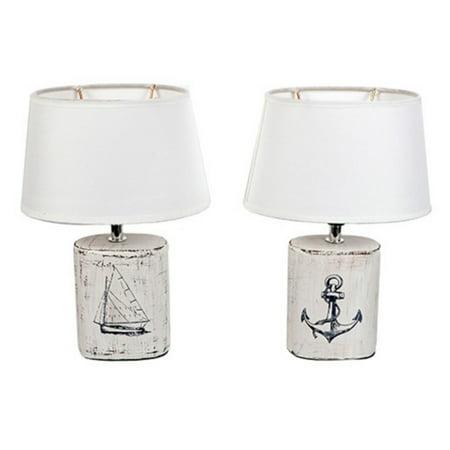Nautical Supply International (Dennis East International Nautical Illustration Mini Lamp - Set of)