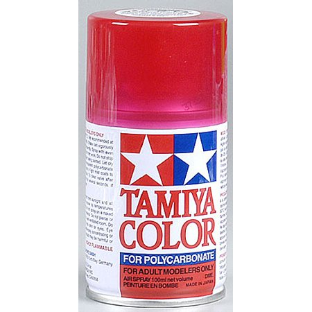 100 Ml Room Spray - Tamiya America, Inc Polycarbonate PS-37 Translucent Red, Spray 100 ml, TAM86037