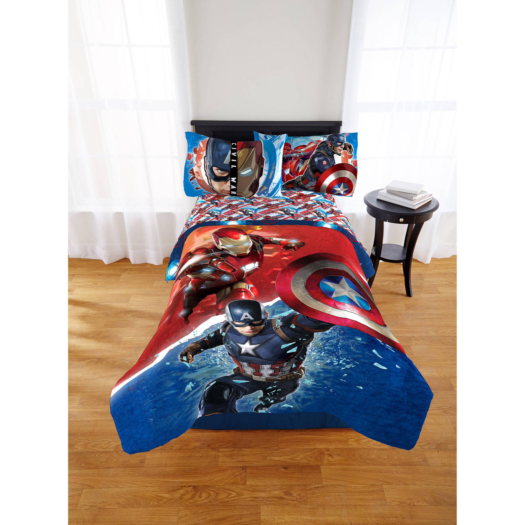 Marvel Avengers Civil War Twin/Full Comforter