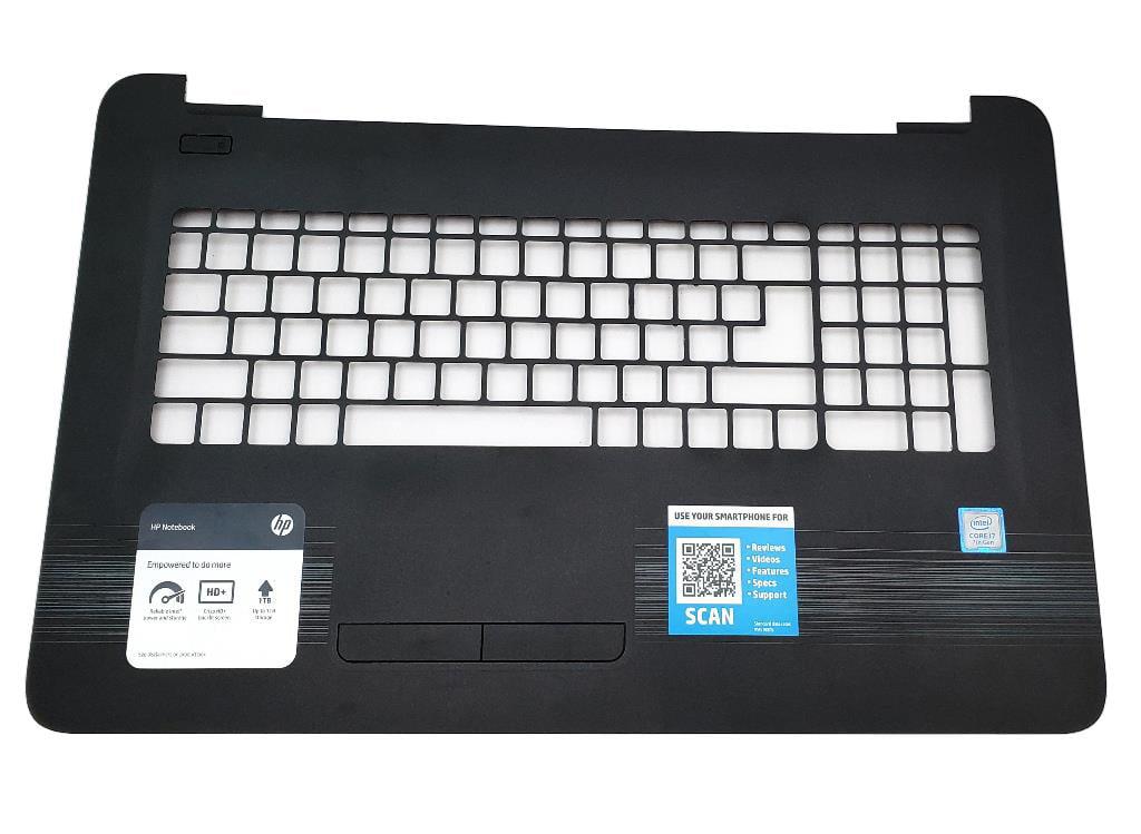 856698-001 46008C050002 HP Notebook 17-X 17T-X 17-Y 17Z-Y Series Laptop  Palmrest Touchpad USA Laptop Palmrest Touchpad Assembly - Used Very Good