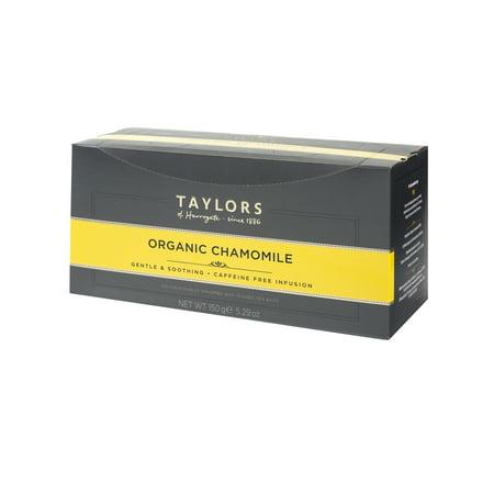 Taylors of Harrogate Camomille Bio Thé, 100 sachets de thé