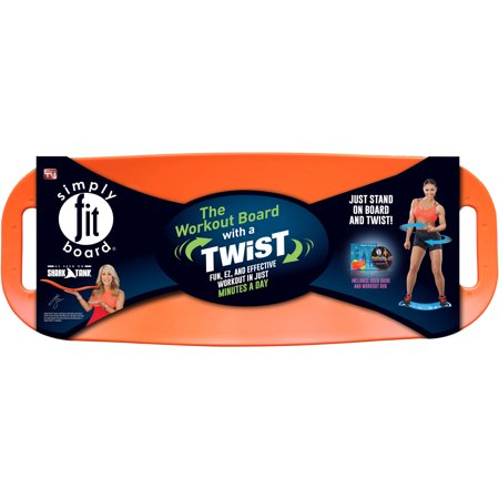 Simply Fit Balance Board, As Seen on TV, Orange
