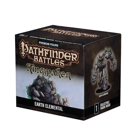 Pathfinder Battles: Kingmaker - Huge Earth Elemental Pre-Painted Miniatures Miniatures Huge Pack