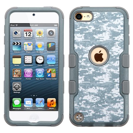 Military Grade Certified TUFF Hybrid Armor Case for iPod Touch (5th, 6th and 7th Generation) - Digital Camouflage ()