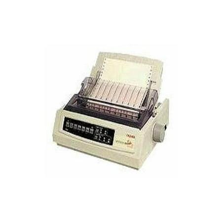 Oki MICROLINE 321 Turbo/D Dot Matrix Printer - 9-pin - 435 cps Mono - 240 x 216 dpi - Parallel, USB
