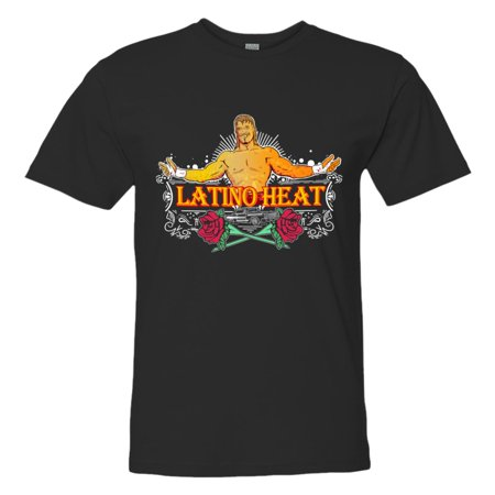 Eddie Guerrero Latino Heat - LICENSED Pro Wrestling Tees™ Adult Mens Unisex Eddie Guerrero Latino Heat Lowrider HQ Fashion Tee