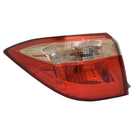 TYC 11-6640-90-1 NSF Tail Light Left Outer Driver LH Quarter for TOYOTA COROLLA ()
